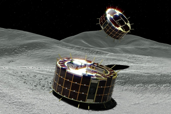 The MINERVA-II rovers are about to land on asteroid RyuguJAXA