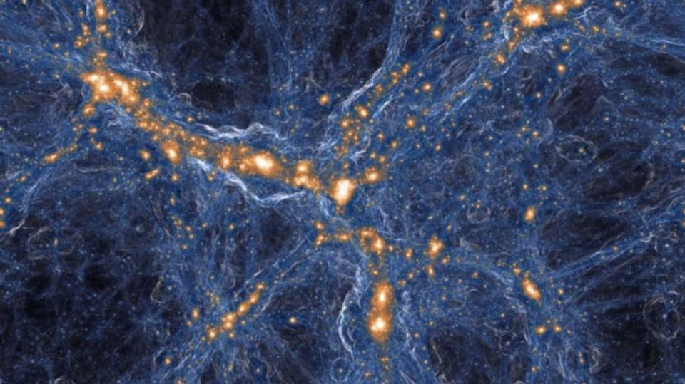 음(-)의 질량을 가진 암흑유체가 암흑물질 암흑에너지 해결하다A new model suggests dark matter and dark energy unify into a fluid with 'negative mass'