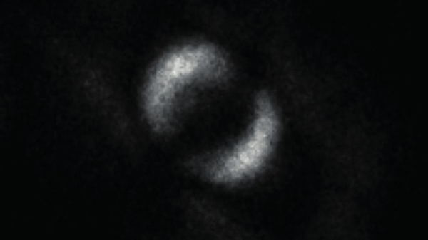 The first ever image of quantum entanglement (Credit: University of Glasgow)