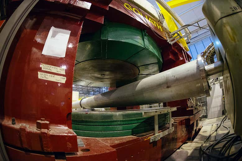 The NA64 experiment at CERN has looked for signs of a fifth forceBrice, Maximilien © 2016-2019 CERNRead more: https://www.newscientist.com/article/2223860-physicists-see-new-hints-of-a-fifth-force-of-nature-hidden-in-helium/#ixzz65ydVNsTk